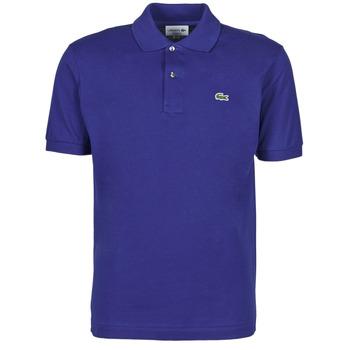 衣服 男士 短袖保罗衫 Lacoste POLO CLASSIQUE L.12.12 蓝色 / Roi