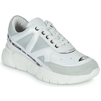 鞋子 女士 球鞋基本款 Love Moschino JA15323G1C 白色
