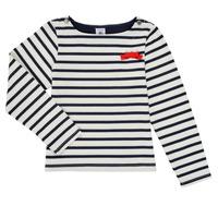衣服 女孩 长袖T恤 Petit Bateau 小帆船 MAHALIA 多彩