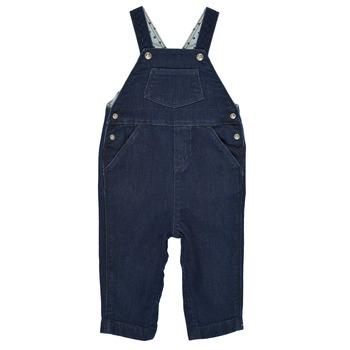 衣服 男孩 连体衣/连体裤 Petit Bateau 小帆船 MILIBERT 蓝色