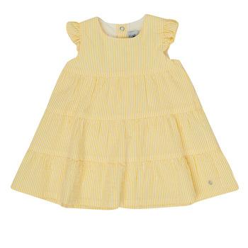 衣服 女孩 短裙 Petit Bateau 小帆船 MERINGUE 黄色