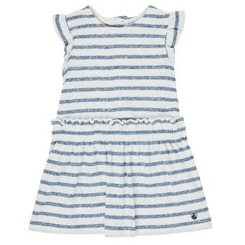 衣服 女孩 短裙 Petit Bateau 小帆船 MILANAIS 多彩