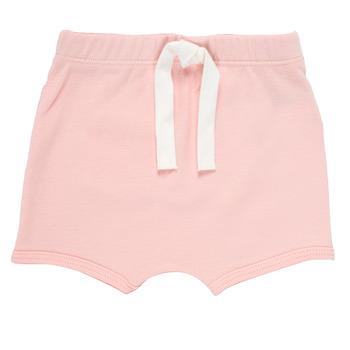 衣服 男孩 短裤&百慕大短裤 Petit Bateau 小帆船 MATHEO 玫瑰色