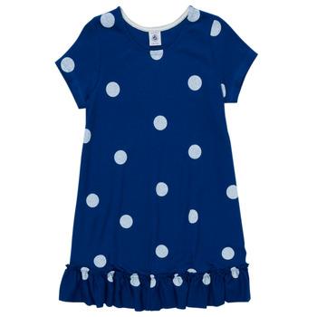 衣服 女孩 短裙 Petit Bateau 小帆船 MALICETTE 海蓝色