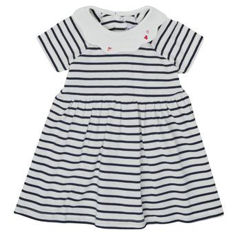 衣服 女孩 短裙 Petit Bateau 小帆船 MEGHANE 多彩