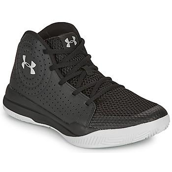 鞋子 儿童 篮球 Under Armour 安德玛 GS JET 2019 黑色