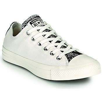 鞋子 女士 球鞋基本款 Converse 匡威 CHUCK TAYLOR ALL STAR DIGITAL DAZE OX 白色 / 黑色