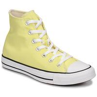 鞋子 女士 高帮鞋 Converse 匡威 CHUCK TAYLOR ALL STAR SEASONAL COLOR HI 黄色