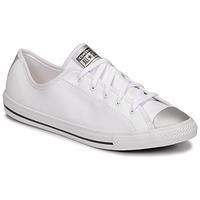 鞋子 女士 球鞋基本款 Converse 匡威 CHUCK TAYLOR ALL STAR DAINTY ANODIZED METALS OX 白色