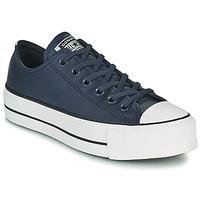 鞋子 女士 球鞋基本款 Converse 匡威 CHUCK TAYLOR ALL STAR LIFT ANODIZED METALS OX 蓝色
