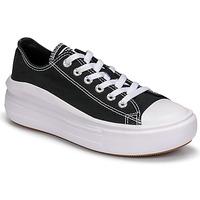 鞋子 女士 球鞋基本款 Converse 匡威 CHUCK TAYLOR ALL STAR MOVE CANVAS COLOR OX 黑色