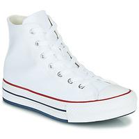 鞋子 女孩 高帮鞋 Converse 匡威 CHUCK TAYLOR ALL STAR EVA LIFT CANVAS COLOR HI 白色