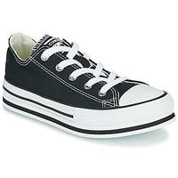 鞋子 女孩 球鞋基本款 Converse 匡威 CHUCK TAYLOR ALL STAR EVA LIFT EVERYDAY EASE OX 黑色