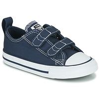 鞋子 儿童 球鞋基本款 Converse 匡威 CHUCK TAYLOR ALL STAR 2V  OX 蓝色