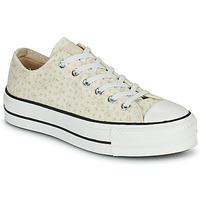 鞋子 女士 球鞋基本款 Converse 匡威 CHUCK TAYLOR ALL STAR LIFT CANVAS BRODERIE OX 白色