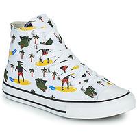 鞋子 男孩 高帮鞋 Converse 匡威 CHUCK TAYLOR ALL STAR CROCO SURF HI 白色 / 绿色