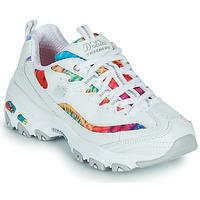 鞋子 女士 球鞋基本款 Skechers 斯凯奇 D'LITES SUMMER FIESTA 白色 / 多彩