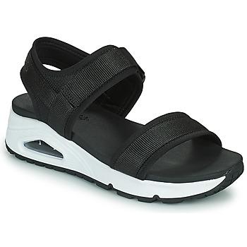 鞋子 女士 凉鞋 Skechers 斯凯奇 UNO 黑色