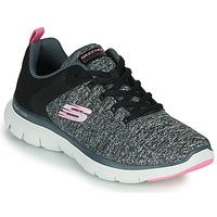 鞋子 女士 训练鞋 Skechers 斯凯奇 FLEX APPEAL 4.0 灰色 / 玫瑰色