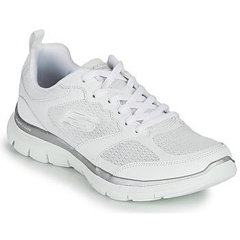 鞋子 女士 训练鞋 Skechers 斯凯奇 FLEX APPEAL 4.0 白色