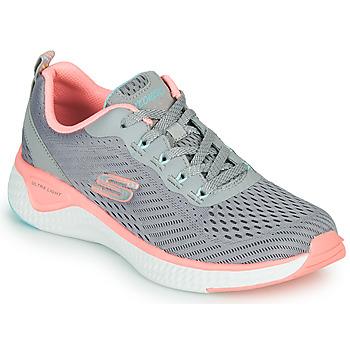 鞋子 女士 训练鞋 Skechers 斯凯奇 SOLAR FUSE COSMIC VIEW 灰色 / 玫瑰色