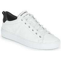 鞋子 女士 球鞋基本款 Skechers 斯凯奇 SIDE STREET 白色
