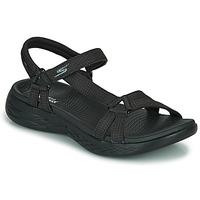 鞋子 女士 运动凉鞋 Skechers 斯凯奇 ON THE GO 600 黑色
