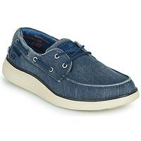 鞋子 男士 船鞋 Skechers 斯凯奇 STATUS 2.0 LORANO 海蓝色