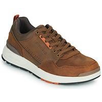 鞋子 男士 球鞋基本款 Skechers 斯凯奇 FAIRLINE 棕色
