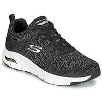 鞋子 男士 球鞋基本款 Skechers 斯凯奇 ARCH FIT 黑色