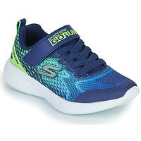 鞋子 男孩 球鞋基本款 Skechers 斯凯奇 GO RUN 600 蓝色 / 绿色