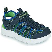 鞋子 男孩 运动凉鞋 Skechers 斯凯奇 C-FLEX SANDAL 2.0 海蓝色 / 绿色