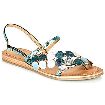 鞋子 女士 凉鞋 Les Tropéziennes par M Belarbi HOLO 银色 / 蓝色
