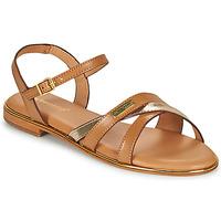 鞋子 女士 凉鞋 Les Tropéziennes par M Belarbi HEXANE 棕色 / 金色