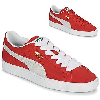 鞋子 球鞋基本款 Puma 彪马 SUEDE 红色