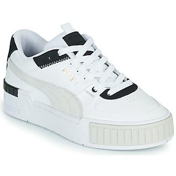 鞋子 女士 球鞋基本款 Puma 彪马 CALI SPORT 白色 / 黑色