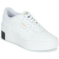 鞋子 女士 球鞋基本款 Puma 彪马 CALI WEDGE 白色 / 黑色