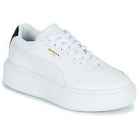 鞋子 女士 球鞋基本款 Puma 彪马 CALI OSLO 白色 / 黑色