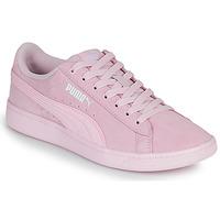 鞋子 女士 球鞋基本款 Puma 彪马 VIKKY 玫瑰色