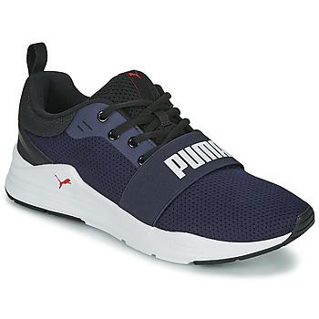 鞋子 男士 球鞋基本款 Puma 彪马 WIRED 蓝色