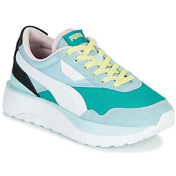 鞋子 女士 球鞋基本款 Puma 彪马 CRUISE RIDER SILK 蓝色 / 白色 / 黑色