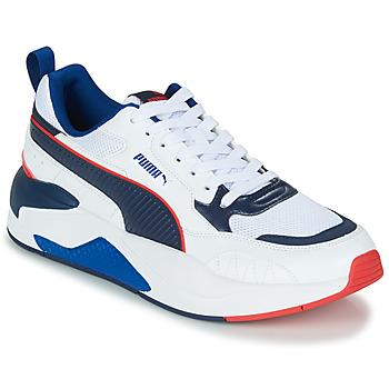 鞋子 男士 球鞋基本款 Puma 彪马 XRAY2 白色 / 黑色 / 蓝色