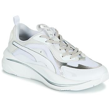 鞋子 女士 球鞋基本款 Puma 彪马 RS CURVE GLOW 白色