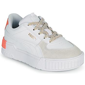 鞋子 女孩 球鞋基本款 Puma 彪马 CALI SPORT PS 白色