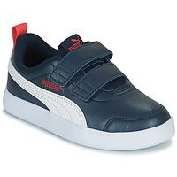 鞋子 儿童 球鞋基本款 Puma 彪马 COURTFLEX PS 黑色