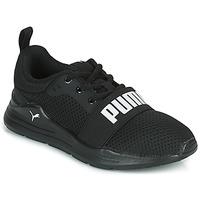 鞋子 儿童 球鞋基本款 Puma 彪马 WIRED PS 黑色