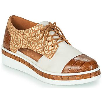 鞋子 女士 德比 MAM'ZELLE KIGALI 白色 / 棕色
