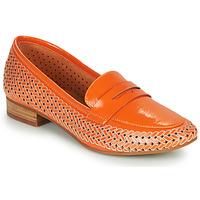 鞋子 女士 皮便鞋 MAM'ZELLE ZIP 橙色