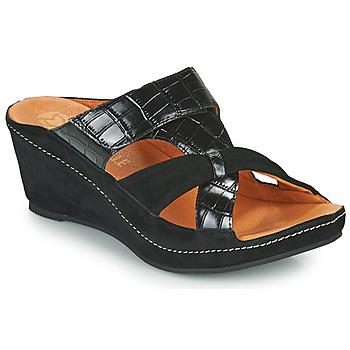 鞋子 女士 休闲凉拖/沙滩鞋 MAM'ZELLE DINAMO 黑色