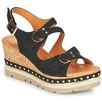 鞋子 女士 凉鞋 MAM'ZELLE PAPOTE 黑色